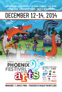 Phoenix Festival of the Arts 2014 Web Flyer